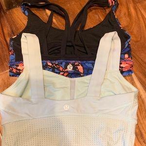 Lululemon sports bra bundles size 4